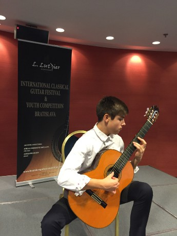 Guitar Competition, Pozsony , 2